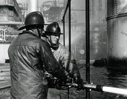 Powerine Oil fire - 1960