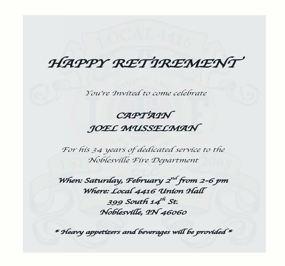 Retirement Announcement