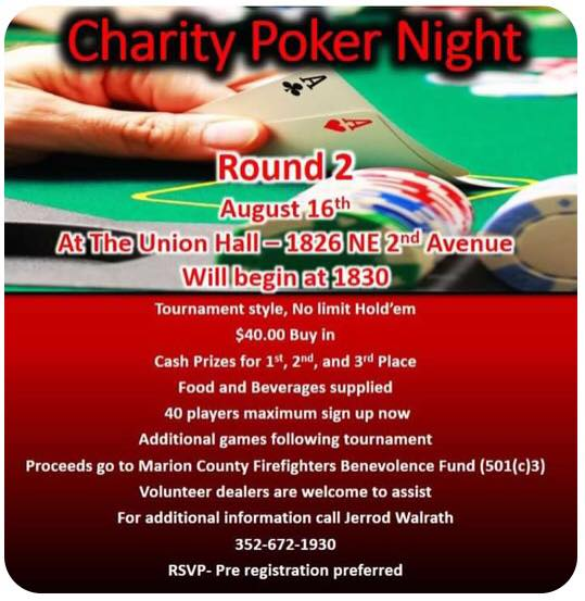 Charity Poker Night