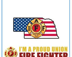 Proud Union Firefighter